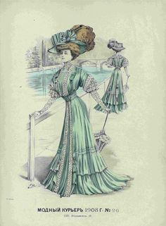 Edwardian Clothing, Edwardian Era, Edwardian Fashion, Historical Clothing, Vintage Fashion, Vintage Clothing, Fashion Artwork, Fashion Prints, Fashion Illustration Vintage