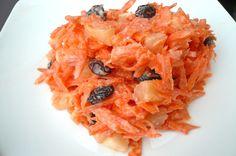 ensalada de zanahoria y manzana