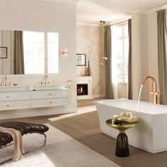 Read more about Covet House is aware of all the trends in the interior design world, and like we always do, we did a curated selection of the best luxury bathroom ideas and bathroom inspirations for 2017. See more at www.covethouse.eu #luxurybathrooms #bathroomdesign #bathroomideas
