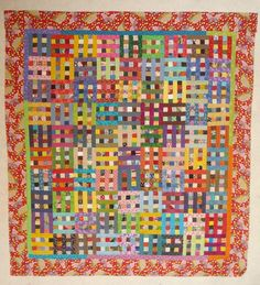 With Strings Attached: Design Wall Monday: swap blocks and postage stamps