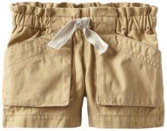 Amazon.com: Tea Collection Baby-girls Infant Paperbag Shorts, British Khaki, 6-12 Months: Clothing