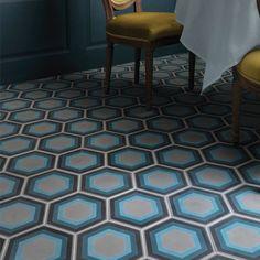 Ca'Pietra Cement Encaustic Patisserie Pattern Tile