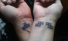 If I ever got a tattoo with a guy, this would be the one.