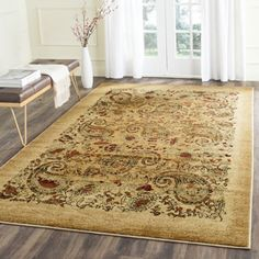 Shop for Safavieh Lyndhurst Collection Paisley Beige/ Multi Rug (5' 3 x 7' 6) and more for everyday discount prices at Overstock.com - Your Online…