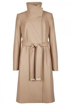 Ted Baker Belted Wrap Camel Coat, £299