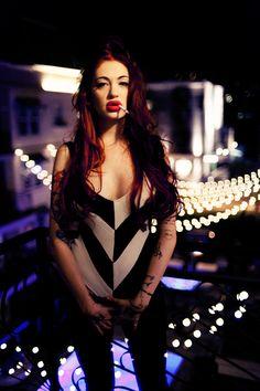 Alaina Beaton Porcelain Black, World Most Beautiful Woman, Kinds Of Music, Soft Grunge, Crossdressers, Redheads, Pin Up, Female, Tops