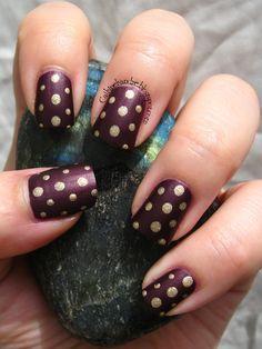 Cajkine kandže i sve njihove boje: Simples - Mixed Dots