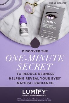 LUMIFY® eye drops reduce redness to help your eyes appear whiter and brighter, and reveal their natural radiance. Bb Beauty, Beauty Care, Beauty Skin, Health And Beauty, Beauty Makeup, Beauty Hacks, Beauty Tips, Eye Drops, Cute Acrylic Nails