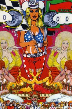"""""""Broads, Boobs and Buckles: The Pinball Art of Dave Christensen"""""""