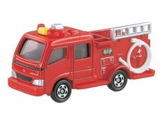Takara Tomy Tomica #41 Morita Fire Engine Type CD-I Diecast Car Vechicle Toy #Tomica