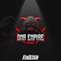 Dna Logo, Mobile Logo, Game Logo Design, Esports Logo, Mobile Legends, Logo Sticker, Design Reference, Logo Inspiration, Branding