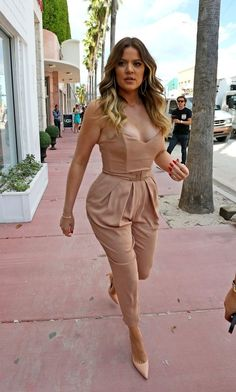 Khloe Kardashian Jumpsuit