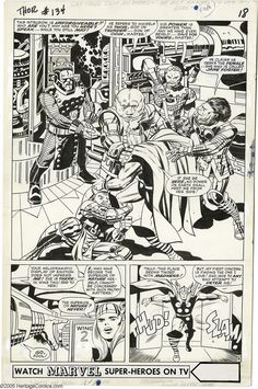 Jack Kirby and Vince Colletta.