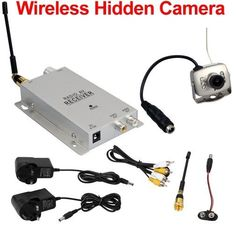 Wireless Hidden Security Cameras for Home - SEE THE WORLD'S BEST COVERT HIDDEN CAMERAS AT http://www.spygearco.com/mini-clock-cameras.php