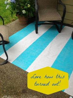 A Painted Floor Cloth Simply paint a canvas dropcloth to create a fun, washable floor cloth. Decking of an house is the single most remarkable. Painted Floor Cloths, Painted Rug, Painted Floors, Drop Cloth Rug, Canvas Drop Cloths, Cladding Materials, Wood Cladding, Outdoor Rugs, Outdoor Decor