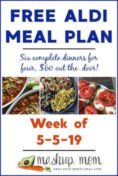 Free ALDI Meal Plan week of - - Diet meal plans - Easy Ketogenic Meal Plan, Aldi Meal Plan, Clean Eating Meal Plan, Meal Prep, Frugal Meals, Cheap Meals, Budget Meals, Freezer Meals, Budget Meal Planning