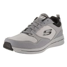Skechers Men's Burst 2.0 Grey Casual Shoes - Free Shipping Today - Overstock.com - 20967427 - Mobile