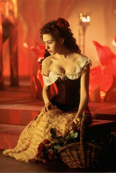christine's (emmy rossum) don juan dress from phantom of the opera, 2004 High School Musical, Ouat, Divas, Music Of The Night, The Rocky Horror Picture Show, Noomi Rapace, Emmy Rossum, Don Juan, Movie Costumes