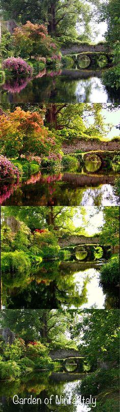 Garden of Ninfa Italy