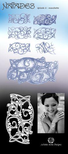 Naïades, designs for mermaids, Juliette Arda
