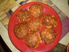 Delicious Salmon Cakes: Go to http://nancyjcohen.wordpress.com for full recipe. Easy to make!