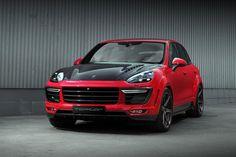 2015 TopCar Porsche Cayenne Vantage Returns in Red