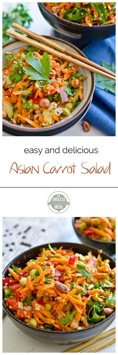 Delicious Asian Salad Recipe | theendlessmeal.com