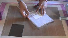 ScrapYcafé - Creando Bordes Texturizados