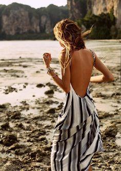 Scoop Back Maxi Dress by Flynn Skye