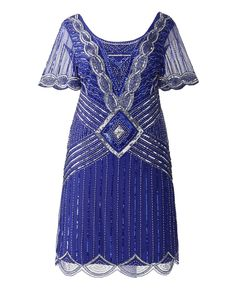 Frock & Frill Athena Flapper Dress