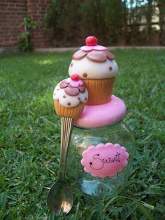 Cupcake Glas Löffel
