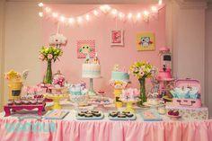Dessert Table Details from a Pajama Sleepover Themed Birthday Party via Kara's Party Ideas | KarasPartyIdeas.com (28)