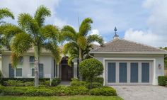Quality BRITISH WEST INDIES style homes in the gated island community of SEASONS.  http://www.VeroPremierProperties.com #VeroBarbara