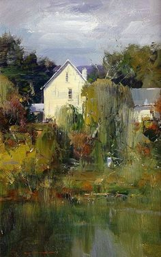 Artist - Ken Knight Australian Painter. #OilPaintingScenery