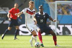 Nominado al Balón de Oro Adidas: el volante mixto alemán, Toni Kroos.