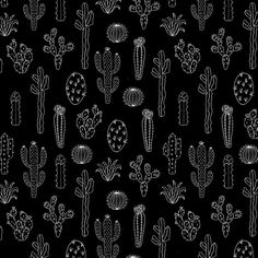 Cactus Silhouette White And Black Duvet Cover by Lavieclaire - Twin XL: x Black Framed Art, Framed Art Prints, Cactus Silhouette, Cactus Backgrounds, Cactus Drawing, Drawing Art, Black Comforter, Black Duvet Cover, Black Throw Pillows