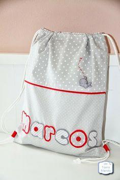"""¿Quieres saber qué cabe en una mochila para la guardería de """"de Tijera Rápida""""?"""