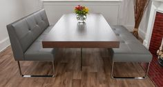 espresso x base dining table   Home > Dining Sets > Dining Sets > Aria Espresso Dark Wood and Genoa ...
