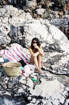 steffy on the rock