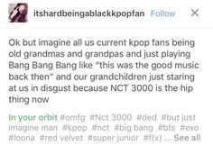 JKKLSLS NCT 3000: mark is still here bitch hes popping a hip but he's going strong