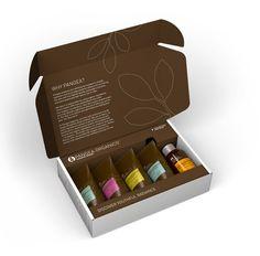 Pangea Organics Skincare Discovery Kit 1 :: shipper boxes
