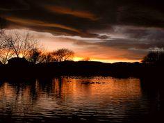 Beautiful Sunset - Fort Collins Colorado