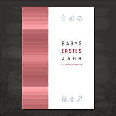 **Babys erstes Jahr - Das Entwicklungsbüchlein** in Din A 5  Ein wunderschönes durchdachtes Babybuch für das erste Jahr des Neugeborenen. Perfekt geeignet als Geschenk für frischgebackene...