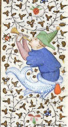 Book of Hours, MS M.453 fol. 61r - Images from Medieval and Renaissance Manuscripts - The Morgan Library & Museum