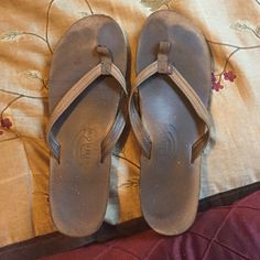 Rainbow sandals ! Used still last a long while  588d343d4