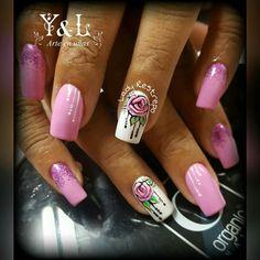 Pretty Nail Designs, Colorful Nail Designs, Nail Art Designs, Hot Nails, Hair And Nails, Pedicure Designs, Fall Nail Colors, Cute Nail Art, Nail Stickers
