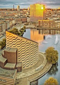 Copenhagen Sunrise, Denmark. Planetarium. Vesterbro. #allgoodthings #danish spotted by @missdesignsays