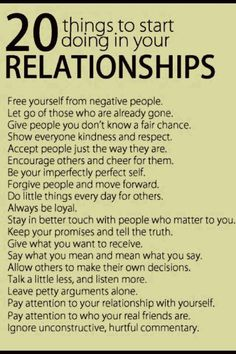 I love the very 1st and the last rule. I believe unhappy people hate to see a start of a happy relationship and a percentage of these individuals will hold purposeful or even unconscious content for those relationships and will attempt to sabotage the coupling to bring those around them back to the status quo. SAD BUT TRUE!