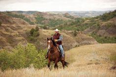 Go for a ride in North Dakota