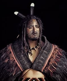 Maori Man - New Zealand